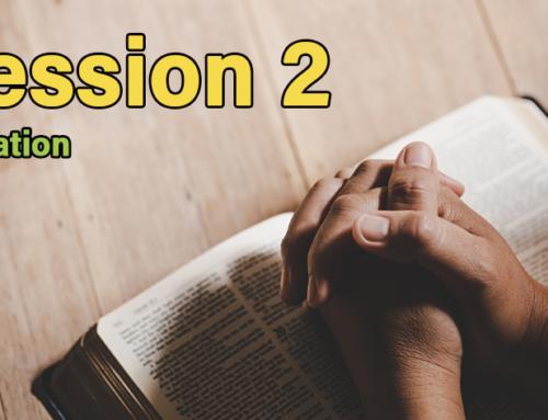 Session 2: Salvation